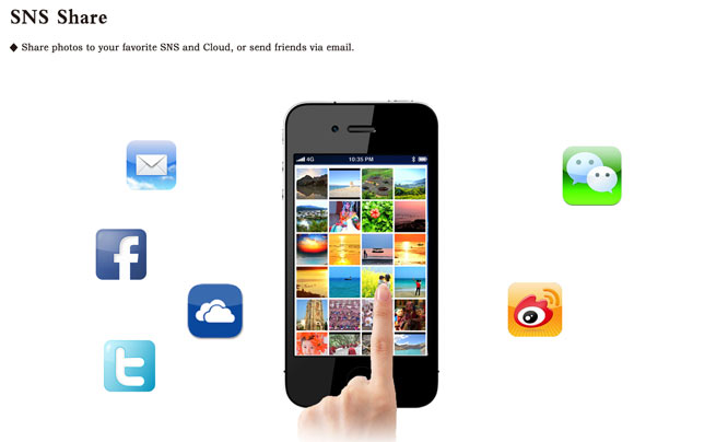 ezShare WiFi SD Wireless SD Shoot and send instantly Precious Moment